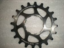 """Wolf Tooth Single Speed Aluminum 20 Tooth Cog Compatible with 3/32"""" Chains NEW!"""