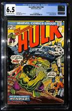 Incredible Hulk #180 CGC 6.5 1st appearance of Wolverine in cameo on last page