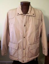 Vintage Columbia 3M Thinsulate Men's Winter Coat, Beige, Tan, Size Medium, 1980s