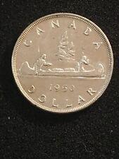 Canada 1950 Silver $1 Dollar UNC