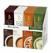 Maxim AGF Japan Cafe a la carte stick Coffee tea Cafe Latte powder 20 Sticks