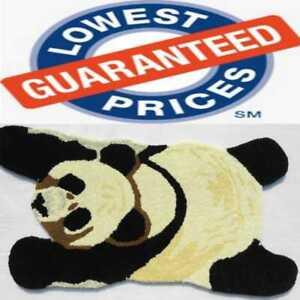 "Animals Tufted Carpets ""Sleeping Panda"" size 2x3 Ft."