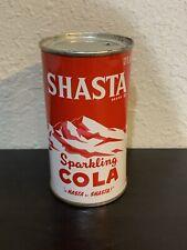 Shasta Sparkling Cola Flat Top Soda Can