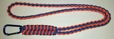 FISHTAIL DIAMOND BRAID PARACORD SURVIVAL NECK LANYARD - YOU CHOOSE THE COLOR/S