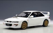 78605 AUTOart 1:18 SUBARU Impreza 22B STi version White 1998 model cars