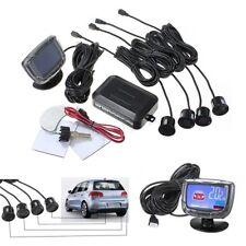 LCD Car Parking Sensors System 4 Rear Sensor Reverse Backup Radar Alarm Kit