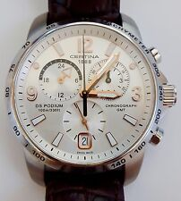 Original Certina DS Podium GMT Chronograph Quarz Ref.C001.639.16.037.01
