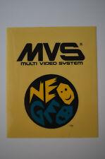 MVS Multi Video System NEO GEO Mini Marquee VINTAGE