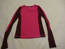 Girls IVIVVA by Lululemon Top, size 10, Long Sleeve, PINK fitted