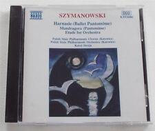 Szymanowski: Harnasie / Mandragora / Etude for Orchestra Karol Stryja GERMAN CD