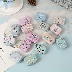 Mini Tin Box Sealed Jar Packing Jewelry Candy Small Storage Cans Coin Gift t3