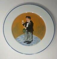 Apilco Creation Guy Buffet Dinner Plate Collection Perrier Jouet EUC