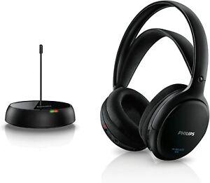 Philips SHC5200/10 HiFi Kopfhörer Kabellos Over-Ear, Schwarz