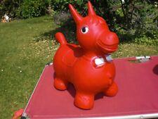 Hopser Hüpfer Pferd Hüpfpferd Togu Bonito rot Schleife gebraucht - Melek Fecht
