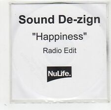 (FW68) Sound De-zign, Happiness - 2001 DJ CD