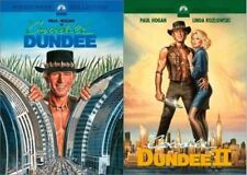 Crocodile Dundee 1 & 2 One and Two (2 DVD SET) Paul Hogan New FREE SHIPPING