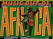 MUSIC OUT OF AFRICA LP 33 FIRE FLAME SOX SENYAKA TABOO THE JETS PRINCESS JABULA
