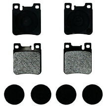 Disc Brake Pad Set-Semi Metallic Rear,Front ACDelco Pro Brakes 17D603M
