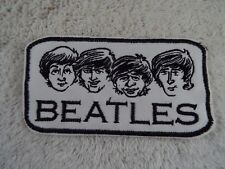 "The BEATLES Caricature 5-5/8"" Embroidery Iron-on Custom Patch (E10)"