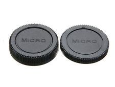 Camera Body & Lens Rear Cap Cover For Olympus Micro 4/3 M4/3 UK STOCKIST