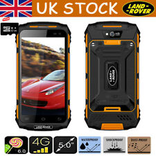 UK 4G LTE Rugged Smartphone Land Rover X2 Android IP67 Mobile Phone+32GB Card