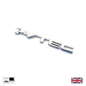 Chrome I-VTEC Boot Badge For Honda Accord Civic CRX CR-V HR-V FR-V S2000