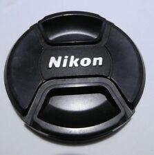 Nikon 72mm Front Lens Cap LC-72 Snap On Genuine EOM-     Free Ship Worldwide