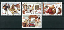 Mint Never Hinged/MNH Cultures, Ethnicities Romanian Stamps