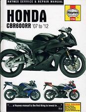 2007-2012 HAYNES HONDA MOTORCYCLE CBR600RR SERVICE REPAIR MANUAL  (4795)