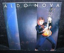 ALDO NOVA Aldo Nova (1982  U.S. 10 Track Gold Foil Stamped Promo LP)