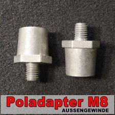 Pol Adapter Außengewinde M8 Batteriepoladapter batteriepol adapter Schraubpol