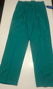 Carol's Scrubs Ladies Teal Blue Green Scrub Pants Sizes S, 1X, 2X, 3X