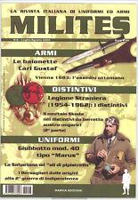 MILITES - militaria magazine - dal n. 6 al n. 10