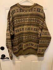 Vintage Woolrich Crewneck Sweater XL Wool PA