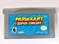 Mario Kart: Super Circuit (Game Boy Advance, 2001) Game Cartridge Only Racing