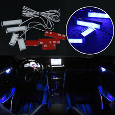 Super Blue Car Door Bowl Handle LED Ambient Atmosphere Light Interior Accessory
