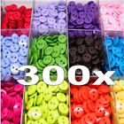 300PCs Candy Color Scrapbooking Embellishment Resin Sewing 2 Holes Buttons 15 mm