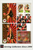 AFL Trading Card MASTER Team Collection EXCL.PREDICTOR-ESSENDON-2006 Champions