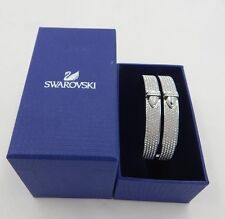 New Swarovski DISTINCT WIDE Bangle Bracelet  5160571   NWT