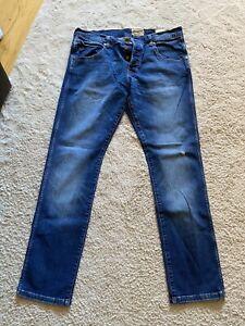 mens wrangler jeans 34 waist 32 leg