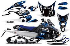 SIKSPAK Yamaha FX Nytro Sled Wrap Snowmobile Graphic Sticker Decal Kit REBIRTH U
