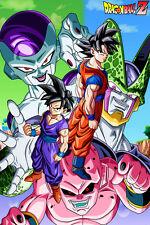 Dragon Ball Super/Z Gohan Goku Freeza Cell Kid Buu 12in x 18in Free Shipping