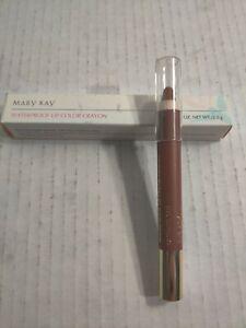 Mary Kay Waterproof Lip Color Crayon Bravo Burgundy #3267 New With Box