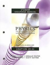STUDENT SOLUTIONS MANUAL FOR PHYSICS FOR SCIENTISTS AND By Scott Nutter