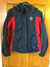 Ladies Ariat Jacket Navy/Red Size S P - Used