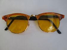 Retro Sunglasses 60s Style Yellow Glasses Vintage 50s 50 60 Fifties New Nerd