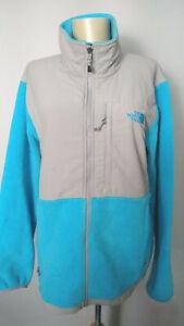 The North Face Bright Sky Blue Denali Fleece Jacket Mens XL