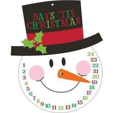 Snowman Countdown to Christmas Cutout Christmas Winter Decoration