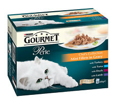Gourmet Perle Cat Food Multipack Chefs Collection Mixed Flavours 12 x 85g Pouch