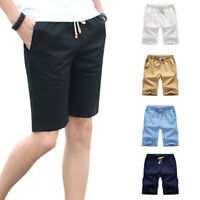 UK Summer Men's Casual Comfy Shorts Baggy Gym Sport Jogger Sweat Beach Pants NEd